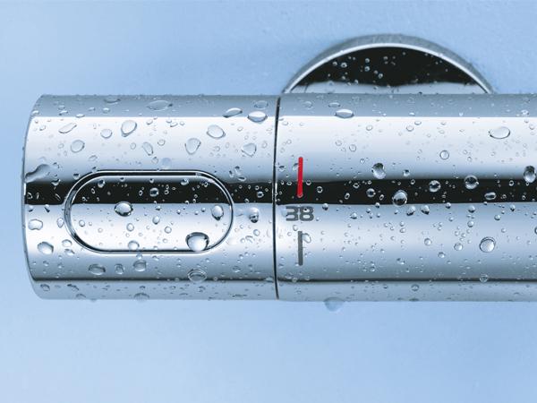 GROHE TurboStat® - zawsze idealna temperatura kąpieli